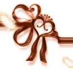 バレンタイン向け リボンとハートと羽根(16パターン)