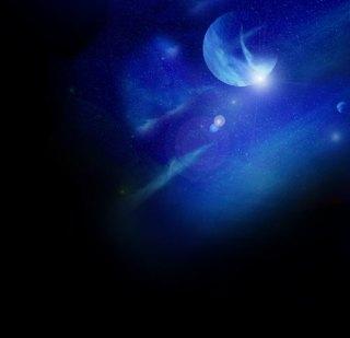 惑星とハレーション(4パターン)