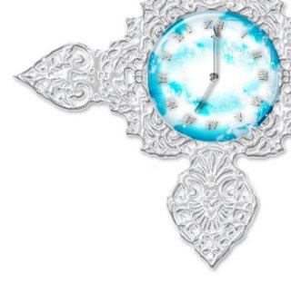 時刻で空模様が変わる時計(8パターン)