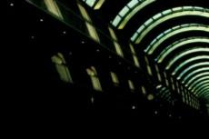 アーチ型の天井の写真素材