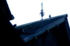 三角の屋根の家