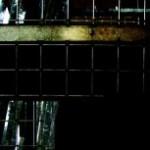 鉄の扉の写真素材
