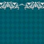 紋章のようなモチーフとダイヤチェック(8パターン)