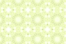 円の幾何学模様(4パターン)