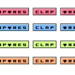 画像を組み合わせられるポップなweb拍手ボタン(6パターン)