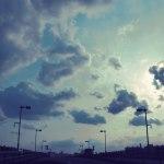 【高解像度】道路に広がる空(3パターン)