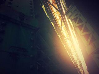 【高解像度】一条の光