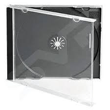 CD SINGLE 10.4mm JEWEL CASE BLACK