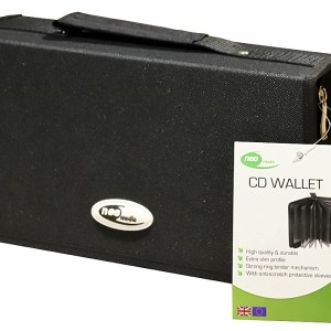 Neo Nylon 120 cd dvd storage capacity case