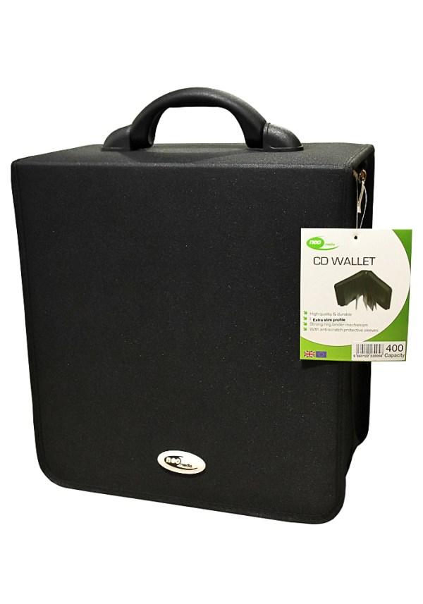 Neo Nylon 400 cd dvd storage capacity case