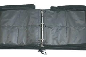 LEATHER 500 CAPACITY NEO MEDIA STORAGE CASE
