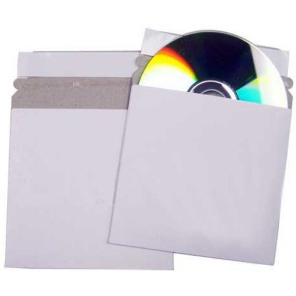 peel & seal card mailer cd dvd neo media