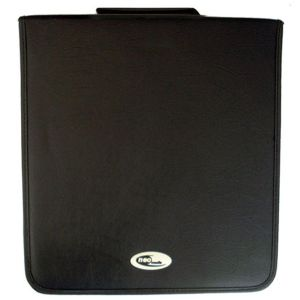 CD DVD CARRY CASE STORAGE NEO MEDIA LEATHER 240