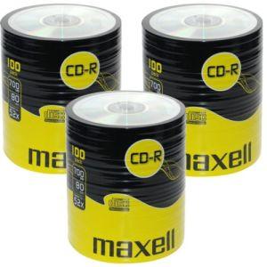 CDR MAXELL LOGO 100 DISCS