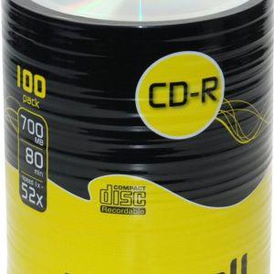 LOGO CD-R 100 PACK MAXELL