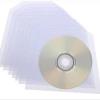 100 CD DVD DISC PLASTIC SLEEVE WALLET 100 MICRON