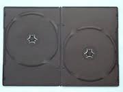DOUBLE SLIM DVD CASE 7MM