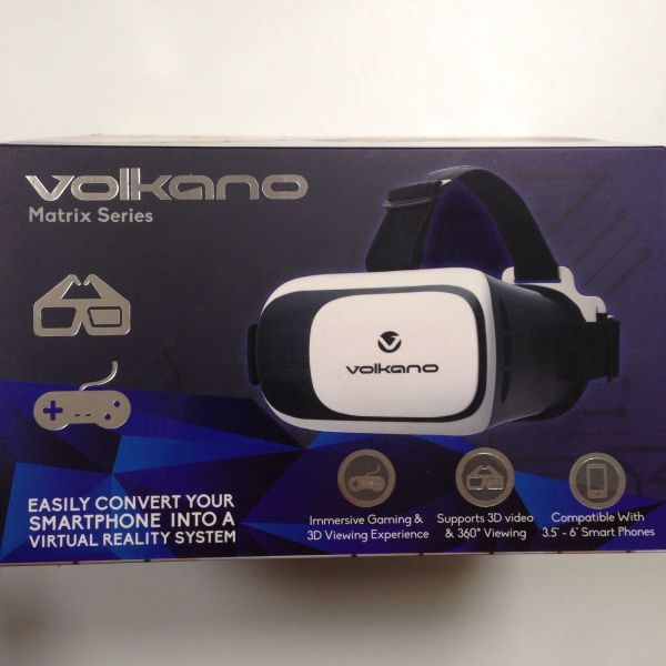 VOLKANO MATRIX VIRTUAL REALITY VR HEADSET FOR SMARTPHONES-310