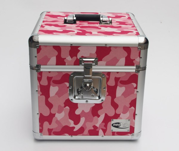 "CAMO PINK LP 100 12"" STORAGE CASE"