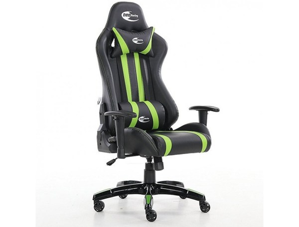 neo green high back office racing gaming chair