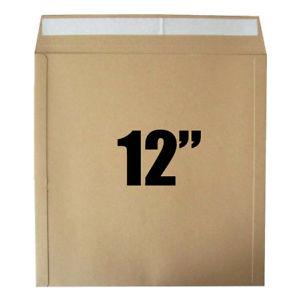 """12"""" vinyl card mailer peel & seal 25 pack"""