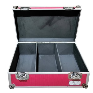 aluminium storage case 500 capacity for 7