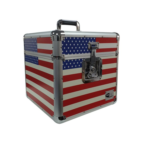 American flag lp storage case