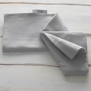 Le Bandeau kangourou gris de lin Néo peau à peau recommandée en puériculture pour les bébés à termes ou prématurés