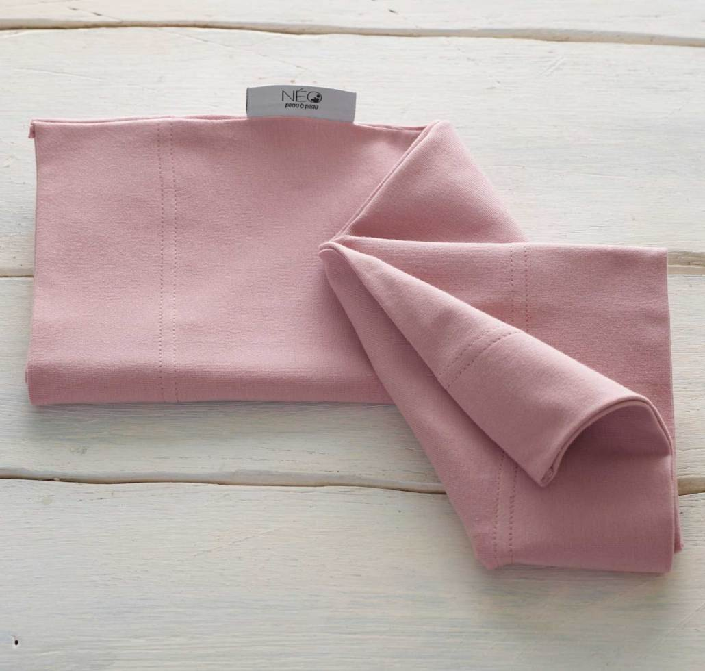 Neo Newborn Baby Wrap Powder Pink Neo Peau A Peau Methode Kangourou