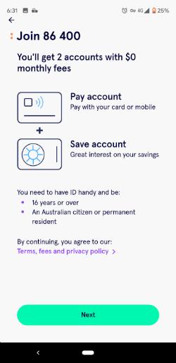 86400 app review | Neobanks