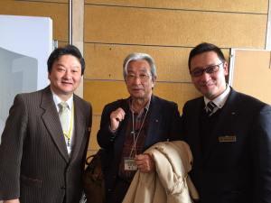 当社のインプラント外科の講師もして頂いている 佐賀医科大学名誉教授 香月武先生にもお会いできました。