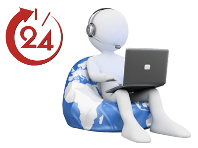 Поддержка 24x7