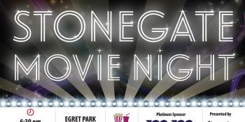 Michael Mei Real Estate Stonegate Community Movie Night Post Card-Front side_ Neo Design Concepts Print Marketing Graphic Design