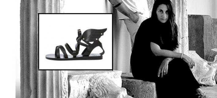 241fa5c44b9 Μελισσινός και Ancient Greek Sandals: Τα ελληνικά σανδάλια που ...