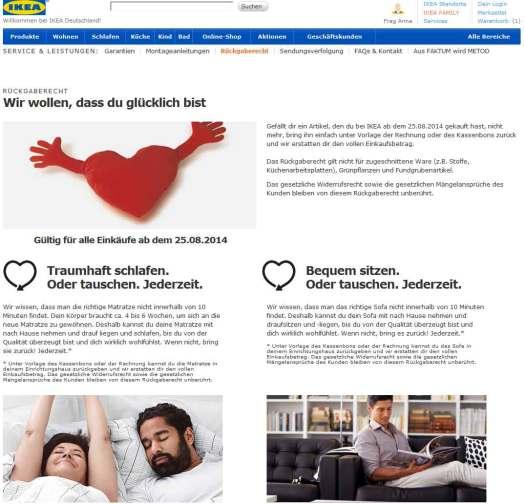 IKEA-ruckgaberecht