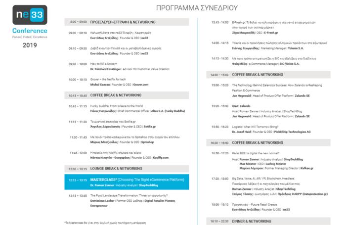 ne33 Conference 2019 Final Program