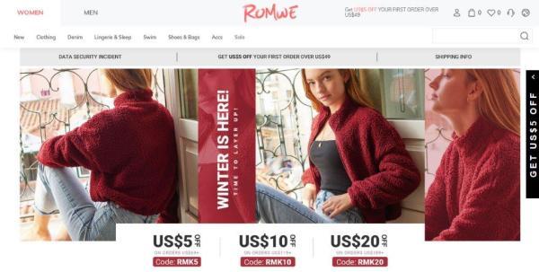Shein's Romwe