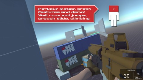 NeoFPS - The Unity FPS controller asset - Parkour