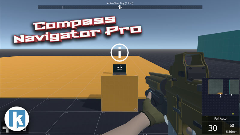 NeoFPS Unity FPS controller - Compass Navigator Pro Integration