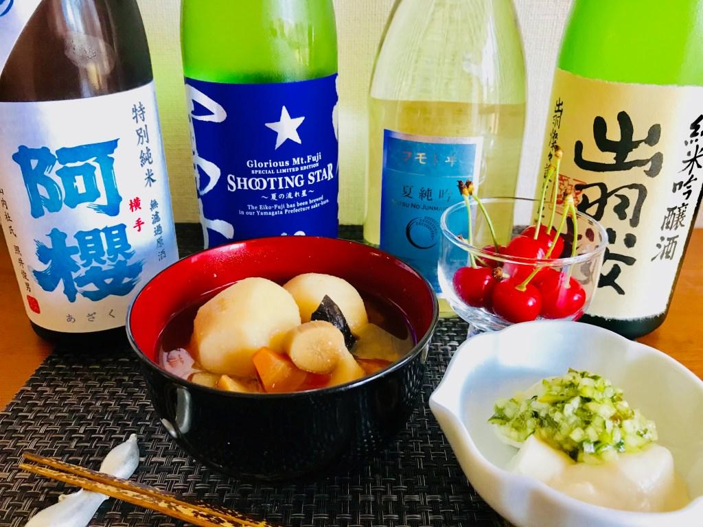 酒知る・味知るクックパッド教室6/23-24山形の酒、夏酒