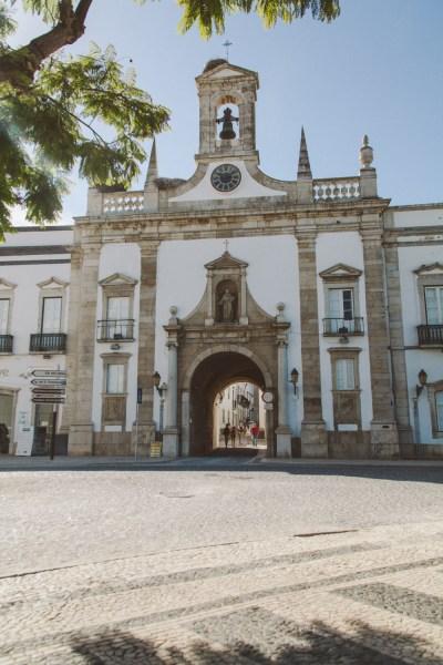 Arco da Vila, Faro. Foto: Neoheimat