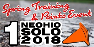 Neohio SCCA Spring Training & Points Event #1 – 2018 @ Captain's Lot, Eastlake | Willowick | Ohio | United States