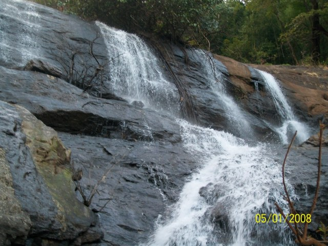 Alakapuri Waterfalls.