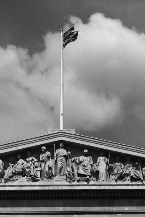 大英博物館 正面