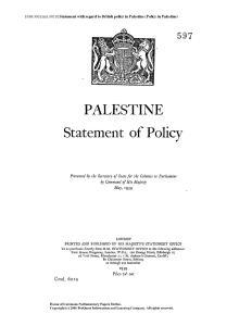 Árverésre bocsátják az 1939-es Fehér Könyv másolatát