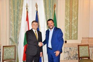 Kövér Salvininek: a Fidesz nem akarja elhagyni a Néppártot