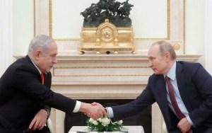 Netanjahu Putyinnal tárgyal Moszkvában