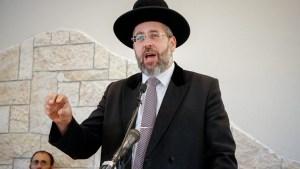 Megtiltotta a zsidók sábeszi beoltását az izraeli főrabbi