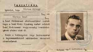 Elárvereznek egy Wallenberg-védlevelet