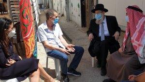 A jeruzsálemi főrabbi meglátogatta az ártatlanul megölt autista palesztin férfi családját
